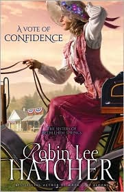 A Vote of Confidence by Robin Lee Hatcher: Book Cover
