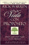 Una vida con propsito (The Purpose Driven Life) by Rick Warren: Book Cover