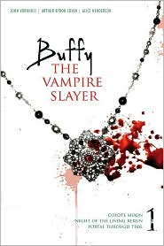 Buffy the Vampire Slayer 1: Coyote Moon; Night of the Living Rerun; Portal Through Time by John Vornholt: Book Cover