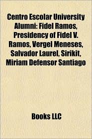 BARNES & NOBLE | Centro Escolar University Alumni: Fidel Ramos ...