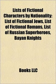 BARNES & NOBLE | Lists of Fictional Characters by Nationality ...