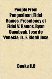 BARNES & NOBLE | People From Pangasinan: Fidel Ramos, Presidency ...