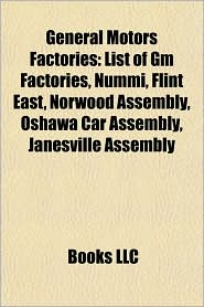 List Of Gm Factories | RM.