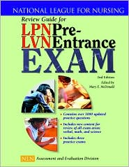 LPN or LVN pre entrance exam