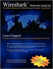 Wireshark Network Analysis by Laura Chappell: Book Cover