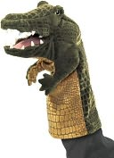 Crocodile Stage Puppet by Folkmanis: Product Image