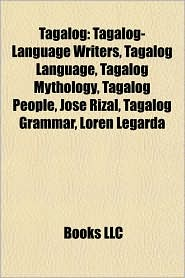 BARNES & NOBLE | Tagalog: Tagalog-Language Writers, Tagalog ...