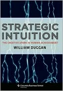 Strategic Intuition by William Duggan: NOOK Book Cover