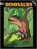 download Dinosaurs Stained Glass Coloring Book book