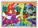 Prehistoric Sunset (Dinosaurs) Jigsaw (24 pc) by Melissa & Doug: Product Image