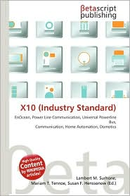 BARNES &amp; NOBLE | X10 (Industry Standard) by Lambert M. Surhone ...