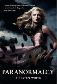 Paranormalcy by Kiersten White: Book Cover