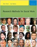 Research Methods for Social Work, 7th Edition by Allen Rubin: Book Cover