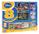 Disney 8 in 1 Puzzle Multipack by Megabrands: Product Image