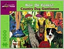 Puzzle Country Dog Gentlemen by Pomegranate: Product Image