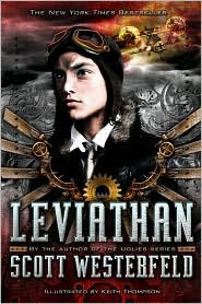 Leviathan (Leviathan Series #1) by Scott Westerfeld: Book Cover