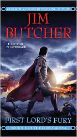 First Lord's Fury (Codex Alera Series #6) by Jim Butcher: Book Cover