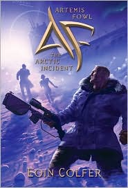 Artemis Fowl; The Arctic Incident by Eoin Colfer: Book Cover