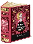 Alice's Adventures in Wonderland and Other Stories (Barnes &amp; Noble Leatherbound Classics Series) by Lewis Carroll: Book Cover