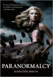 Paranormalcy by Kiersten White: NOOK Book Cover