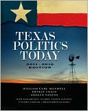 Texas Politics Today 2011-2012 by William Earl Maxwell: Book Cover