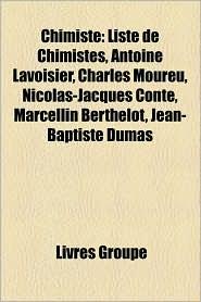 BARNES & NOBLE | Chimiste: Liste de Chimistes, Antoine Lavoisier ...