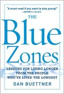 The Blue Zones by Dan Buettner: NOOK Book Cover