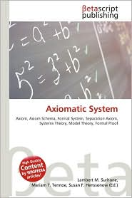 Axiomatic System Models | RM.