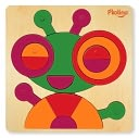P'kolino Multi-Solution Shape Puzzle - Bug by P'kolino: Product Image