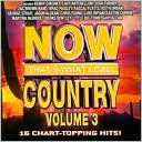 Now That's What I Call Country, Vol. 3: CD Cover