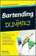 Bartending For Dummies by Ray Foley: Book Cover