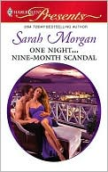 One Night...Nine-Month Scandal by Sarah Morgan: NOOK Book Cover