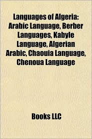 BARNES & NOBLE | Languages of Algeria: Arabic Language, Berber ...