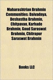 BARNES & NOBLE | Maharashtrian Brahmin Communities: Daivadnya ...