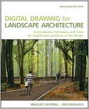 Digital Drawing for Landscape Architecture by Bradley Cantrell: Book Cover