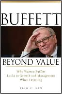 Buffett Beyond Value by Prem C. Jain: Book Cover