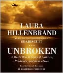 Unbroken by Laura Hillenbrand: CD Audiobook Cover