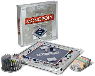 Monopoly Platinum by Hasbro, Incorporated: Product Image