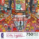 City Lights New York City 750 Piece Puzzle by Ceaco: Product Image