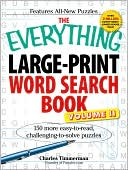 The Everything Large-Print Word Search Book, Vol II by Charles Timmerman: Book Cover