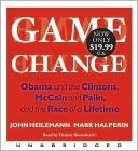 Game Change by John Heilemann: CD Audiobook Cover