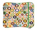 Jonathan Adler Multi Bargello Print Laptop Sleeve by Lifeguard Press: Product Image
