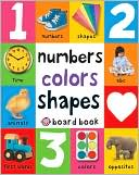 First 100 Soft to Touch Numbers, Shapes and Colors by Roger Priddy: Book Cover