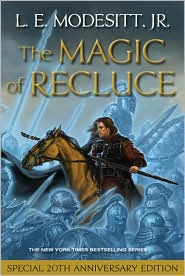 The Magic of Recluce (Recluce Series #1) by L. E. Modesitt Jr.: Book Cover