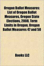 List Of Oregon Ballot Measures 2004 | RM.