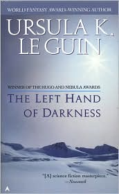 The Left Hand of Darkness (Hainish Series) by Ursula K. Le Guin: Book Cover