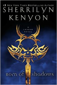 Born of Shadows (League Series #5) by Sherrilyn Kenyon: Book Cover