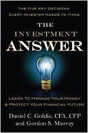 The Investment Answer by Daniel C. Goldie: Book Cover