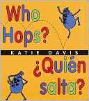 Who Hops? (Quien salta?) by Katie Davis: Book Cover