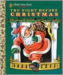 The Night Before Christmas (Little Golden Book Series) by Clement C. Moore: Book Cover
